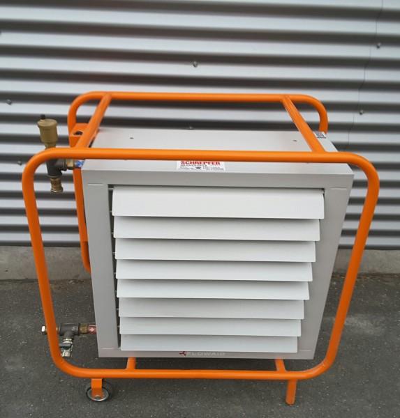 Fahrbarer Lufterhitzer für Hallenbeheizung